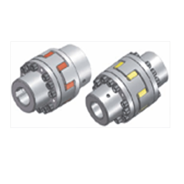 REACH Flange-Claw Coupling with Quincunx Elastomer